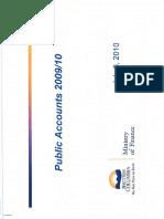 BC Government Public Accounts 2009-2010