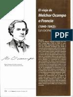 Viaje Melchor Ocampo