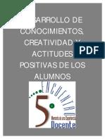 Desarrollo Creatividad y Actitudes
