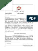F-SHA-014 Notificacion de Riesgos (GUIA 5)