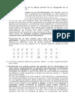 Principales Novedades de La Última Edición de La Ortografía de La Lengua Española. Resumen (1)