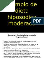 Ejemplo de Dieta Hiposodica Moderada