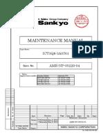 20 Sankyo Maintenace Manual ICT3Q8-3A2761