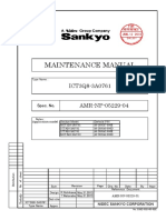 20 Sankyo Maintenace Manual ICT3Q8-3A2761