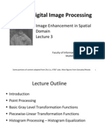 Digital Image Processing 03 Image Enhancement in Spatial Domain