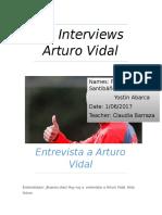He Interviews Arturo Vidal