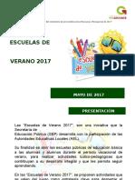 Presentacion Esc, Verano 2017 Ok