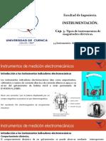 3.3. Instrumentos Electromecánicos