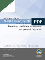 Pieghevole Summer School MOBILITA UMANA 2017