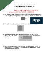 Plan Mejora 2P MATEM 8