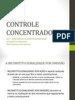 Controle Concentrado_ Ado x Mandado de Injunção