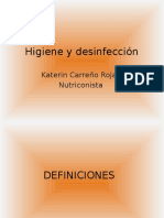 Higiene y Desinfeccion