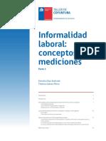Informalidad Laboral:Conceptos y Mediciones