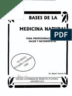 Bases de La Medicina Natural
