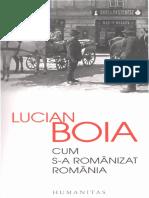 Cum s-a românizat România - Lucian Boia