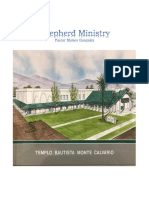 """""""The Shepherd's Ministry""""  A Syllabus on Pastoral Leadership"""