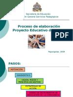 Proceso de Elaboración PEC
