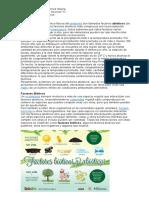 Abioticos y Bioticos