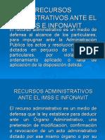 Recursos Admvos Ante Imss e Infonavit