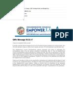 June 2nd, 2017 EmpowerLA Newsletter