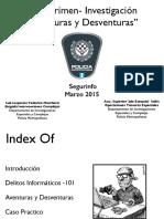 Ezequiel Sallis - Aventuras y Desventuras de La Investigacion de Los Delitos Informaticos