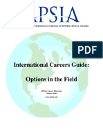 International Careers Guide