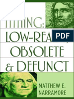 Matthew E. Narramore-Tithing_ Low-Realm, Obsolete & Defunct