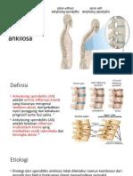 Spondilitis Ankilosa Revisi 1