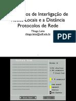 4 - Protocolos de Rede