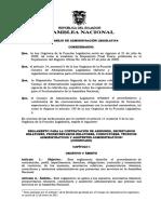 7. Reglamento Para La Contratación de Asesores, Secretarios 15-12-2015!26!01 2016 27 10 2016 y 21 12 2016