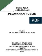 Buku Pelayanan Publik