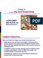 Buying and Disposing