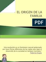 Origen de La Familia