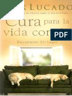 Max Lucado - Cura Para La Vida Común