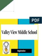 6th grade registration