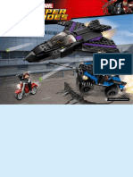 Black Panther Jet instructions