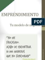 Emprendimiento 1 Tu Modelo de Negocio