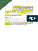 Caso Osteoarticular-segundo Parcial