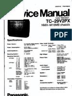 Manual de Servicio de TV Panasonic TC-29V2PX