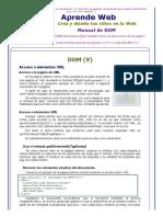 Acceso a Elementos XML Del DOM