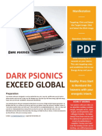 Dark Psionic s Manual