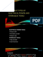 Power and Hydraulic Tools
