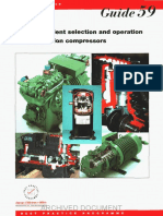 GPG059 Energy Efficient Selection and Operation of Refrigeration Compressors