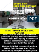 Stela Metode Storie Index Soil Rating