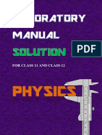 Class XI XII Laboratory Manual Solution