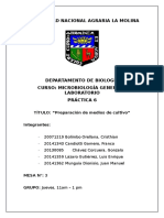 Informe 6 Microbiologia General