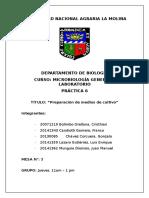 Informe 6 Microbiologia General