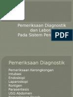 Pemeriksaan Lab Sistem Pencernaan