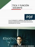 DIDÁCTICA Y FUNCIÓN DOCENTE
