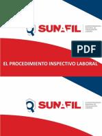 Procedimiento Inspectivo y Sancionador Para Federacion Minera Inpa